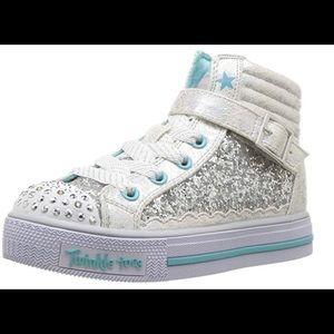Skechers Shoes   Kids Shufflesglitter